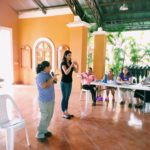 Image showing PourOut's Alisa Medders during a training for La Villa staff in Nicaragua.